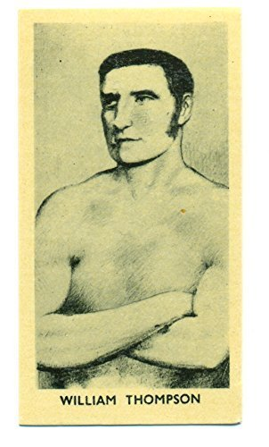 1938 F. C. Cartledge Glossy William Thompson Famous Prize Fighter #13 Knock-Out