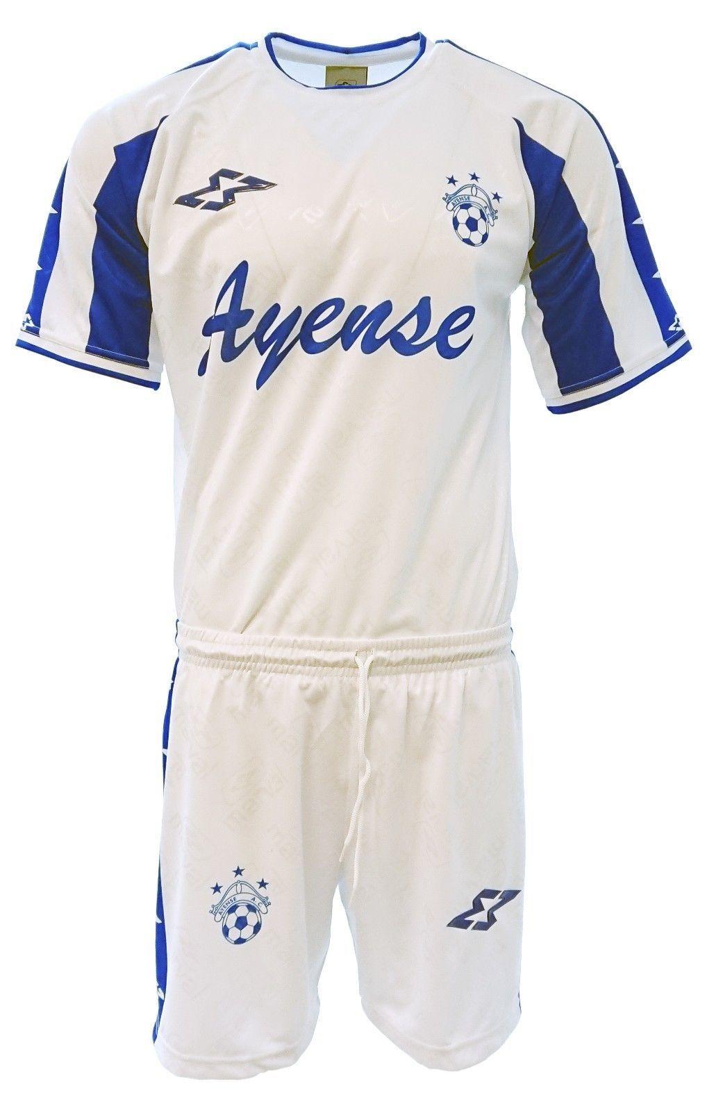aec8f7fdd Ayense Adult Men Soccer Uniform White by and 50 similar items
