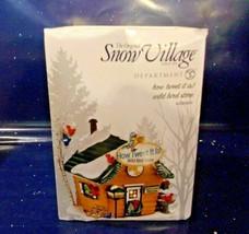 """Dept. 56 Snow Village """"How Tweet It Is Wild Bird Store""""  #4036569   - $32.73"""