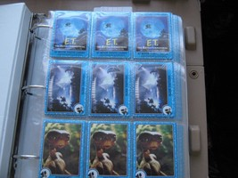 E.T. The Extra-Terrestrial Topps Movie Photo Cards 1982 , Cards # 1- # 79 - $39.51