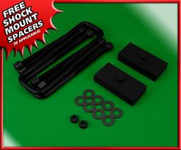 """Rear Lift Kit 1"""" Steel Blocks w/ U-Bolts For 2005-2020 Nissan Frontier 2... - $60.00"""
