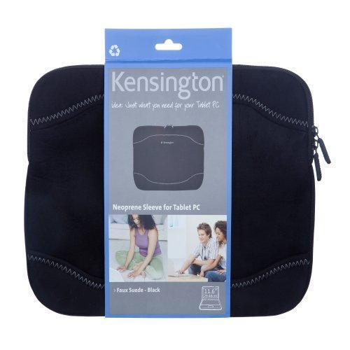 "Primary image for Kensington Neoprene Netbook Sleeve- Faux Suede -Black 10.1""-11.6"""