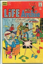 Life With Archie #75 1968-Betty-Veronica-The Archies rock band-G - $22.70