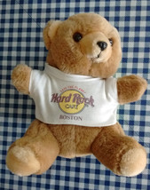 Hard Rock Cafe Boston Plush Teddy Bear with T-Shirt - $19.95