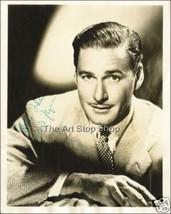 Errol Flynn autograph photo print - $3.85