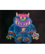 """21"""" Talking My Pet Monster Plush Toy With Beak Away Cuffs And Tags 2001 ... - $280.49"""