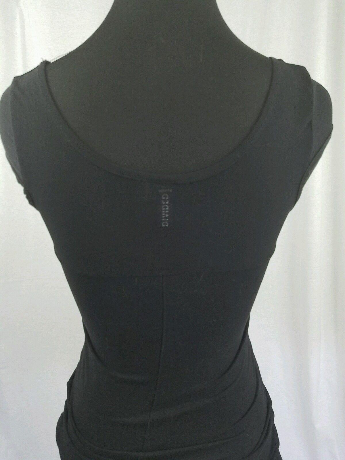 H&M Little Black Dress Sweetheart Neckline Mesh Sleeve Sexy Size 4