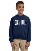 Star Labs Unisex Youth Crew Neck Sweat Shirt The Flash STAR LABORATORIES - $15.64 CAD