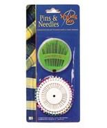 Sewing Box Pins & Needles - $7.04