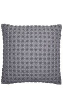 "Hotel Collection Modern Plaid 18"" Decorative Pillow NEW $170 - $57.42"