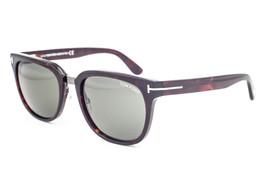 Tom Ford Rock Dark Havana / Green Sunglasses TF290 52N - $175.42