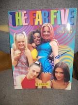 SPICE GIRLS-VICTORIA BECKHAM Autograph on Sticker Book - $34.65