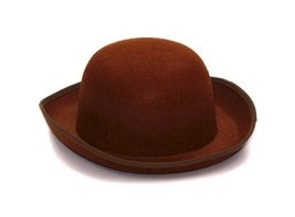 SteamPunk and Cosplay Victorian Brown Derby Hat Costume Style, NEW UNWORN - $7.84