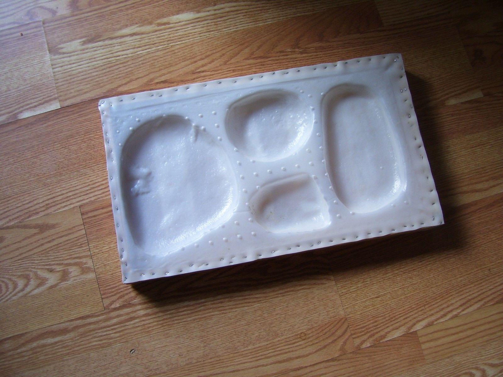1 River Rock concrete plastic mold.....Make stone For $.35 sqft
