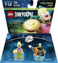 LEGO Dimensions, Simpsons Krusty Fun Pack [video game] - $14.95