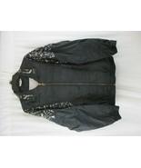 Vtg 80s 90s PIERRE CARDIN Womens Nylon WINDBREAKER Track Jacket Large L - $20.78