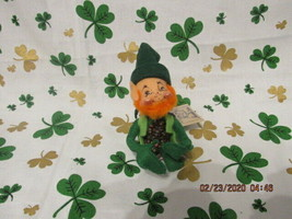 "Annalee 1992 5"" Leprechaun Mint With Tags - $34.00"