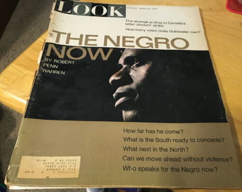 Primary image for Look Magazine March 23, 1965 The Negro Now