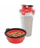FineLife ON-THE-GO PET WATER AND FOOD BOTTLE - $27.06
