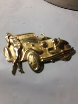 Vintage Park Lane Large Auto  and Starlet Brooch.   - $7.43