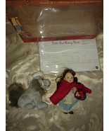"BARBIE COLLECTIBLES LITTLE RED RIDING HOOD 4½"" DOLL SET 2001 - $12.97"