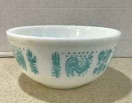Vtg Pyrex Amish Butterprint 403 - 2 1/2 Quart  Mixing Bowl - $23.03