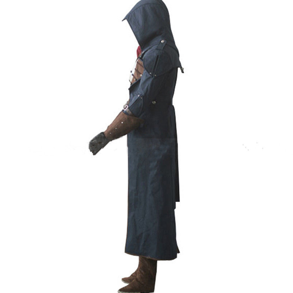 Assassin's Creed Unity Arno Victor Dorian Cosplay Costume Full Set