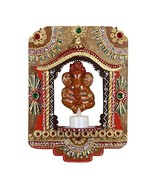 Indian Paper Mache Wooden Handcrafted Jharokha Picture Frame Set Display - $28.42