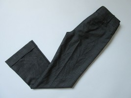 NWT Ann Taylor Wool Blend Trouser in Brown Black Beige Tricolor Pants 0 ... - $23.99