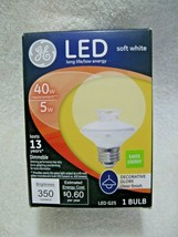 GE 40 Watt LED Replacement Decorative GLOBE Bulb Using Only 5 Watts-Soft White!! - $12.95