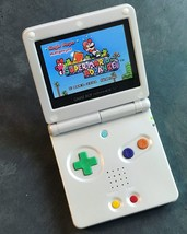 Nintendo Game Boy Advance GBA SP System AGS 101 Brighter MINT CUSTOM PRIDE - $166.57