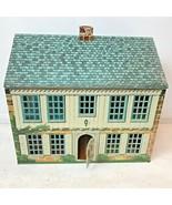 Vintage 40s Bucks Playsteel Locust Year Tin Metal Litho Dollhouse & Furn... - $99.95