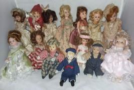 14 Dolls Miniature Some Vintage Story Book Dolls 1 Madame Alexander Plus Others - $16.99