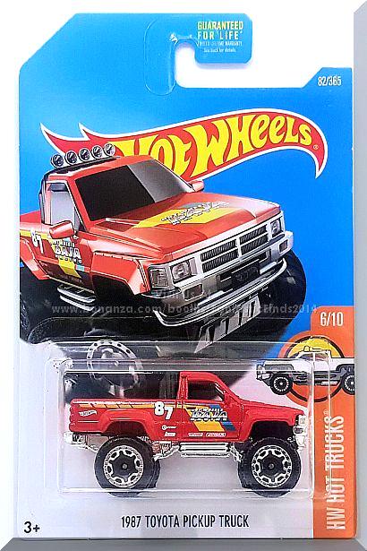 hot wheels 39 87 toyota pickup truck hw hot trucks 6 10. Black Bedroom Furniture Sets. Home Design Ideas