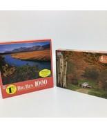 2 MB Big Ben 1000 Piece Puzzles- Artic National Wildlife Refuge,AK + Rea... - $36.45