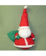 "STUFFINS Nylon SANTA Claus 20"" Plush Stuffed Character Toy Christmas Red... - $28.04"