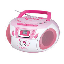 Hello Kitty Stereo CD Boombox with Cassette Pla... - $88.62
