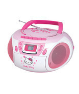 Hello Kitty Stereo CD Boombox with Cassette Pla... - £68.21 GBP