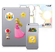Controller Gear Super Mario Character Tech 6 Decal Pack Peach's Kingdom NEW image 4