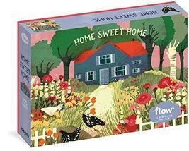 Home Sweet Home 1,000-Piece Puzzle (Flow) [Puzzle] Smit, Irene; van der ... - $19.95
