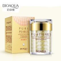 BIOAQUA Pure Pearls Face Day Cream Skin Anti Aging Oil Control Anti Wrin... - $13.46