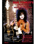KISS Paul Stanley Ibanez LTD / Classic PS10's Stand-Up Display - Rock Mu... - $16.99
