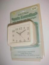 Tozai Quartz Alarm Clock with Snooze & Backlight Model No. ATC-234 White... - $44.50