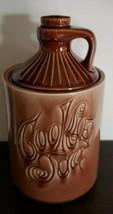 """Vintage """"Cookie Jug"""" Lidded Cookie Jar Brown Whiskey Moonshine Jug Jar/C... - $79.20"""