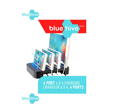 NEW Blue Hive Charging Station 4 Port + Circuit Protection In Sealed Box - $73.81