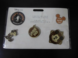Disney Trading Pins 128065 DS - Mickey Mouse Memories 3 Pin Set - April - $46.75