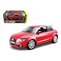 Audi A1 Red 1/24 Diecast Car Model by Bburago 21058r - $32.30