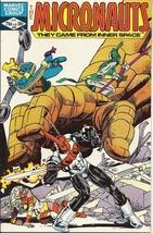 (CB-7) 1982 Marvel Comic Book: Micronauts #40 { Fantastic Four app. } - $3.50