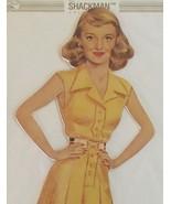 Bette Davis Cutout Paper Doll Set Rare Vintage Brand New Sealed Package Shackman - £36.14 GBP