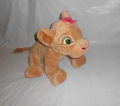 "DISNEY The Lion King NALA with Pink Flower 19"" Stuffed Plush Toy Brown - $29.66"